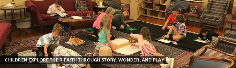 Children Explore Their Faith Through Story, Wonder, and Play